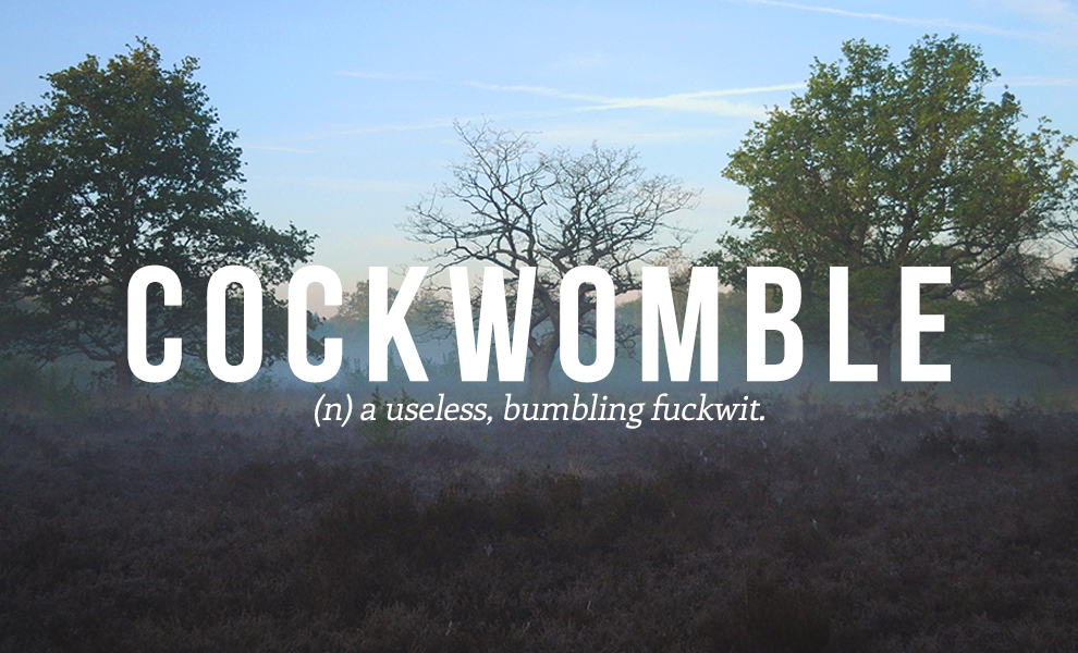 cockwomble definition