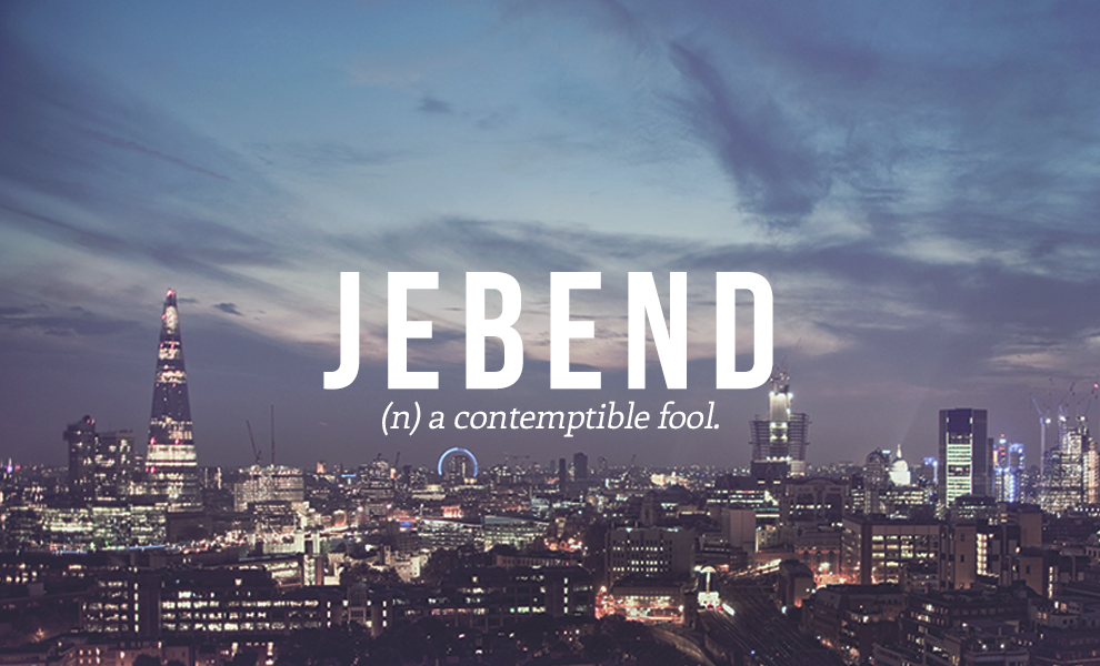 jebend definition