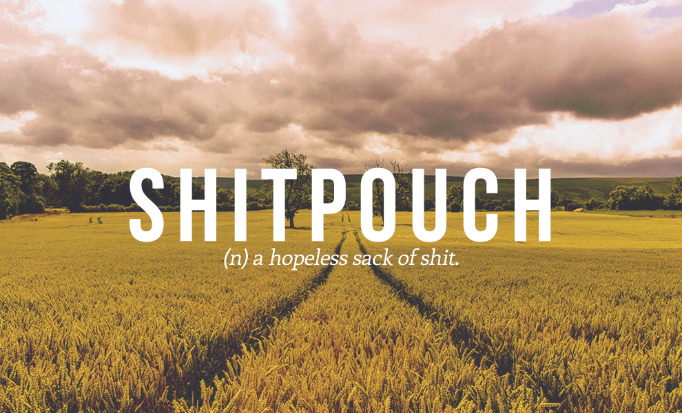 shitpouch definition